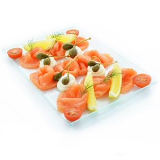 Loch Fyne Salmon | Cream Cheese | Capers LARGE (4 people)